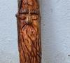 Een houten spirit