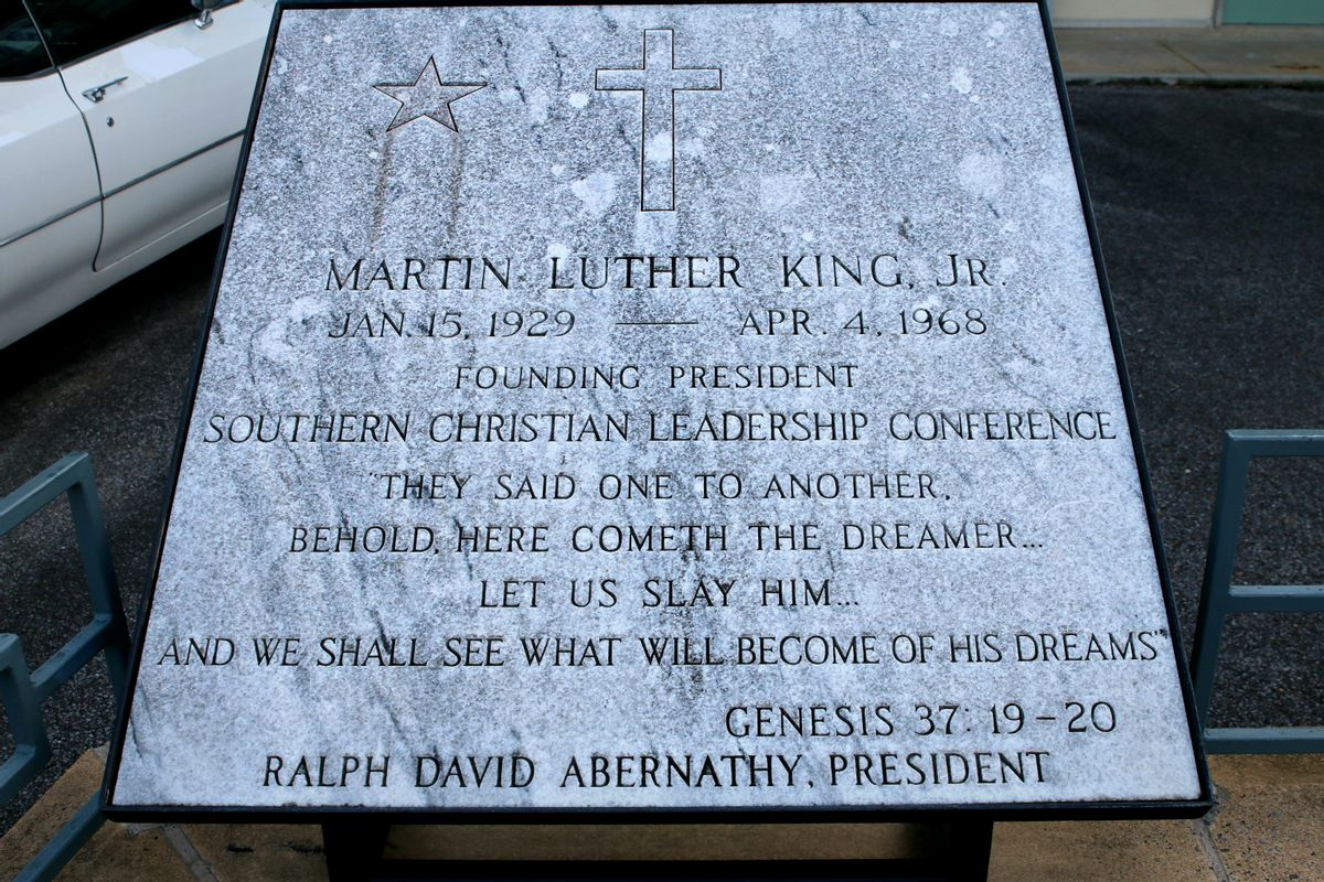 Martin-Luther-King-Plaque
